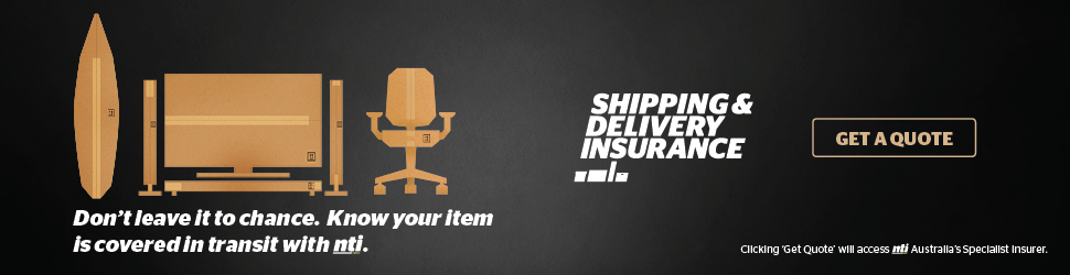 Get a quote on shipping and delivery insurance in Australia.